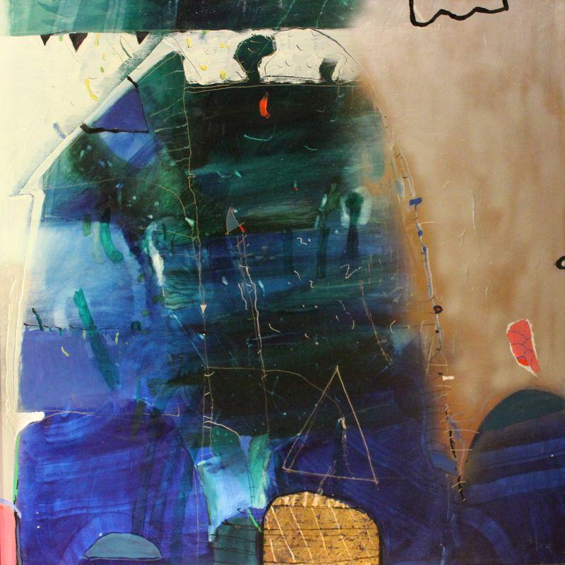 """Dalia Kasčiūnaitė. Be pavadinimo, 1988. Drobė, aliejus. """"Lewben Art Foundation"""" kolekcija.  """"Lewben Art Foundation"""" nuotr."""