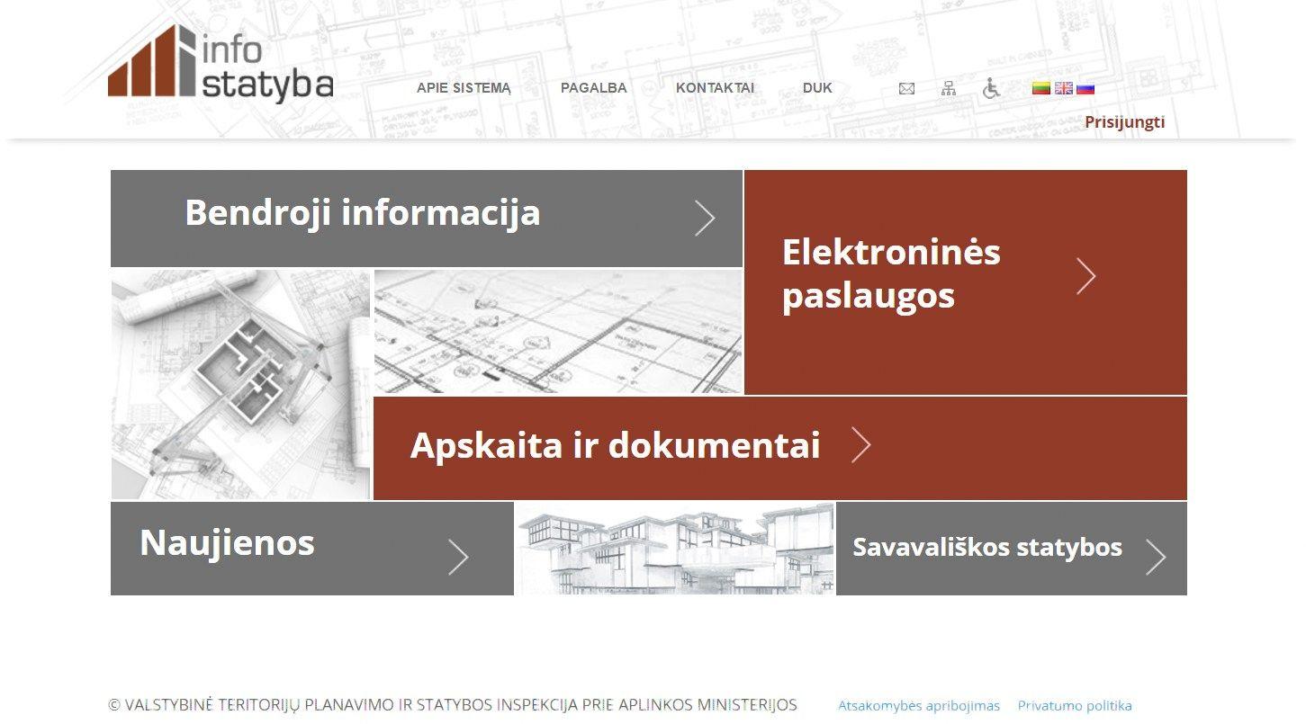 """Gyventojų duomenų paviešinimas """"Infostatyboje"""" – IT sistemos klaida"""