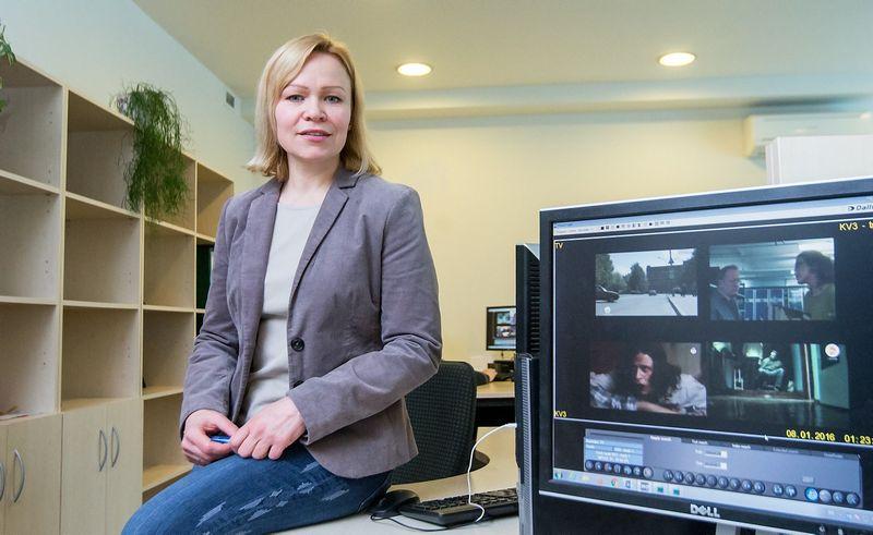 Giedrė Juronienė, rinkos tyrimų Kantar TNS reklamos monitoringo vadovė. Juditos Grigelytės (VŽ) nuotr.