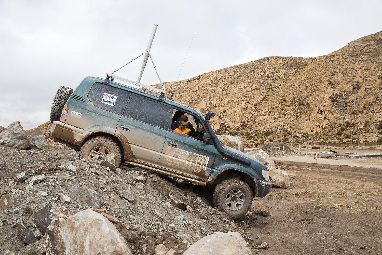 Dakaro ralio planus jaukia siaučiančios liūtys