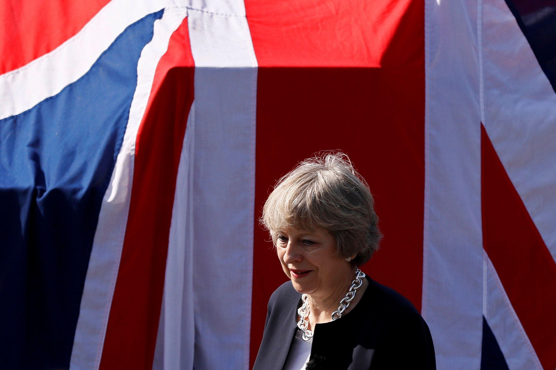 """Theresa May, JK premjerė. Stefano Wermutho (""""Reuters"""" / """"Scanpix"""") nuotr."""