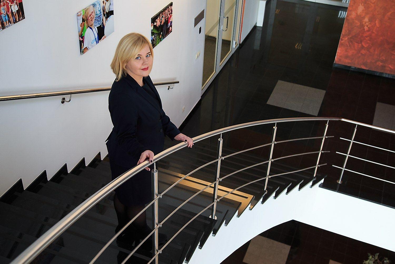 """Aušra Puodžiūnienė, bendrovės """"ERGO Insurance"""" Lietuvoje Civilinės atsakomybės Draudimo skyriaus vadovė. Vladimiro Ivanovo (VŽ) nuotr."""