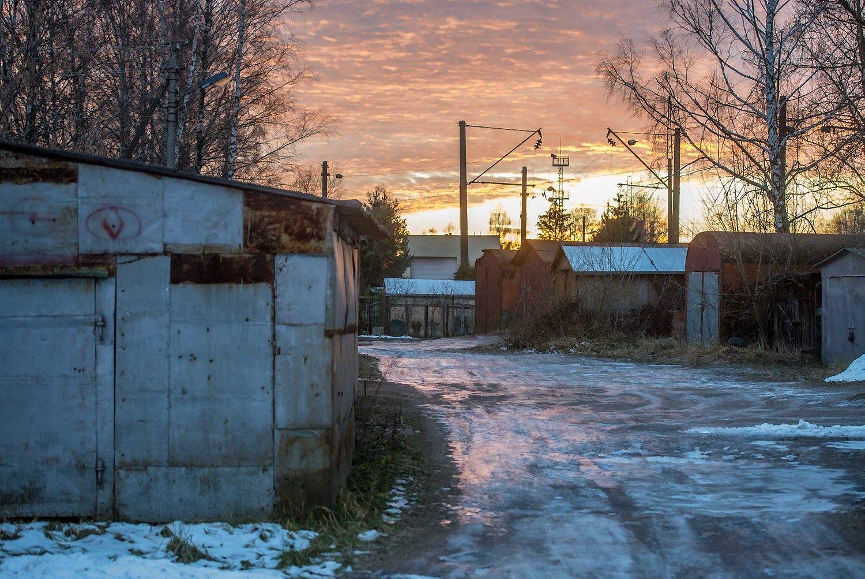 Metaliniai garažai. Savivaldybės nuotr.