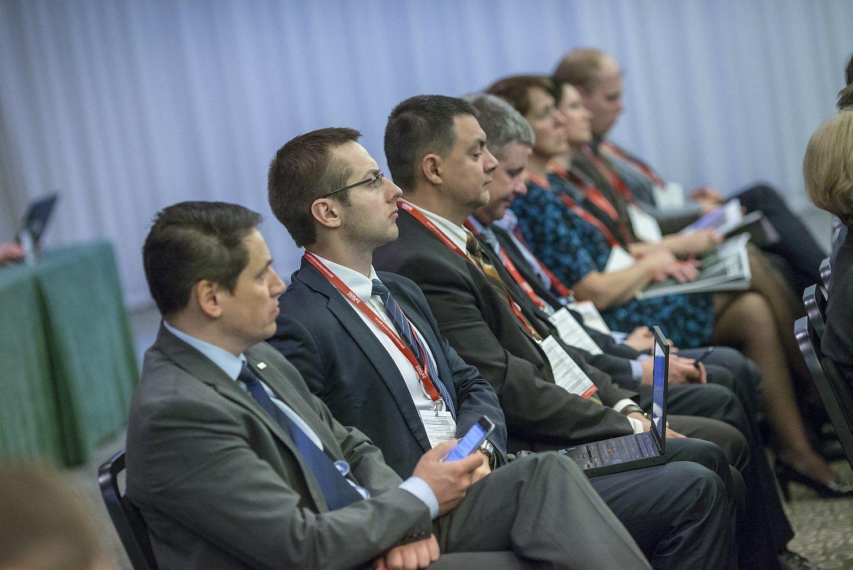 """Vladimiro Ivanovo (VŽ) nuotr. """"Verslo žinių"""" organizuota Finansų vadovų konferencija"""