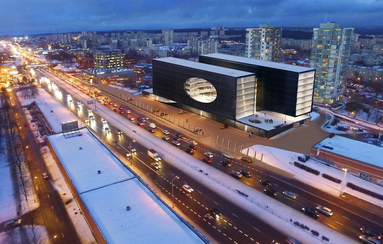 PST apsisprendė, kaip atrodys naujas biurų pastatas Ukmergės g.