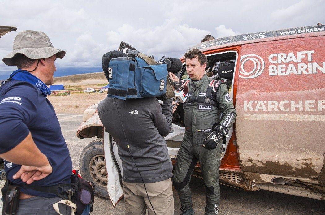 Juknevičiaus šuolis į viršų Dakaro ralyje – finiše 22