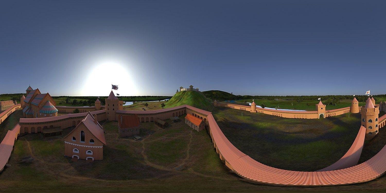 Valdovų rūmai kviečia į virtualią LDK realybę