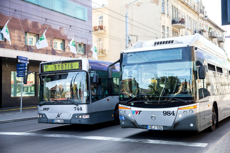 Naujus autobusus Vilniuje ne nuomos, o pirks