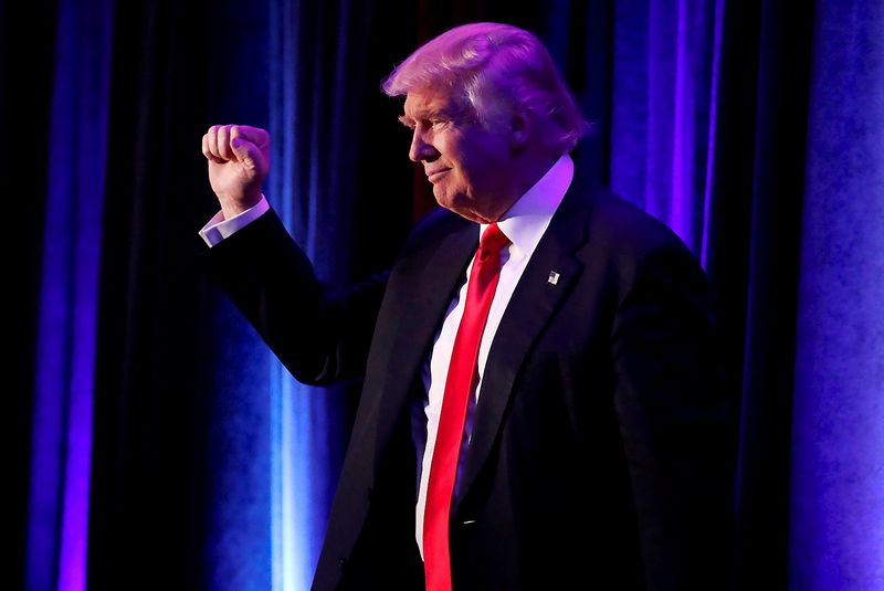 "Donaldas Trumpas, išrinktasis JAV prezidentas. Andrew Kelly (""Reuters""/""Scanpix"") nuotr."