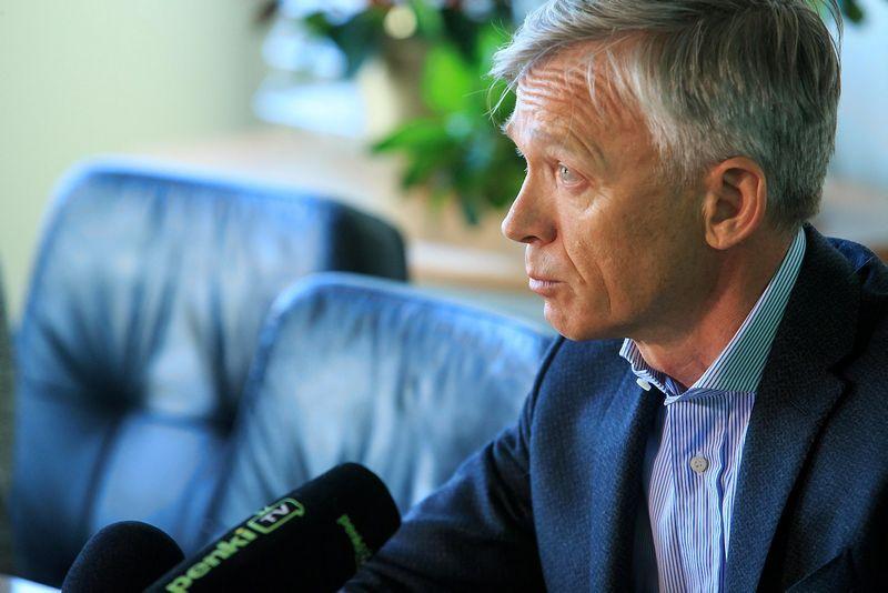 """Arvydas Avulis, nekilnojamojo turto AB """"Hanner"""" valdybos pirmininkas.  Vladimiro Ivanovo (VŽ) nuotr."""
