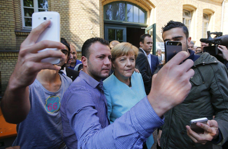 Pabėgėliai tapo palaiminimu Vokietijos ekonomikai
