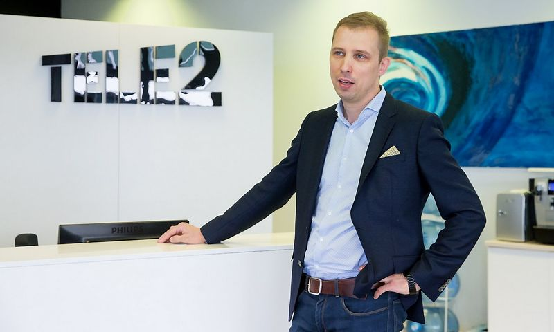 """Andrius Baranauskas, """"Tele2"""" korporacinės komunikacijos direktorius Baltijos šalims.  Juditos Grigelytės (VŽ) nuotr."""