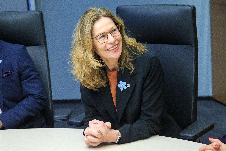 """Švedų """"Swedbank"""" vadovė: mūsų vadovai daugiau negalės piktnaudžiauti"""