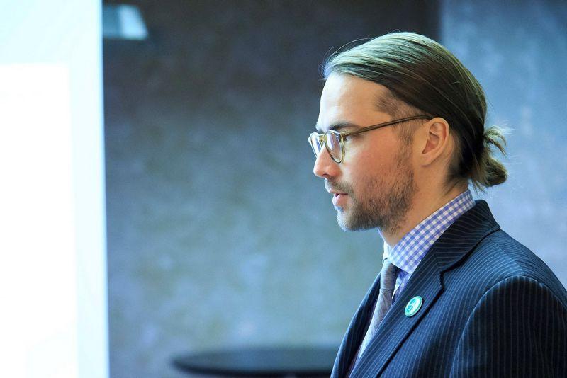 Gediminas Almantas, Lietuvos oro uostų (LOU) generalinis direktorius. Vlasdimiro Ivanovo (VŽ) nuotr.