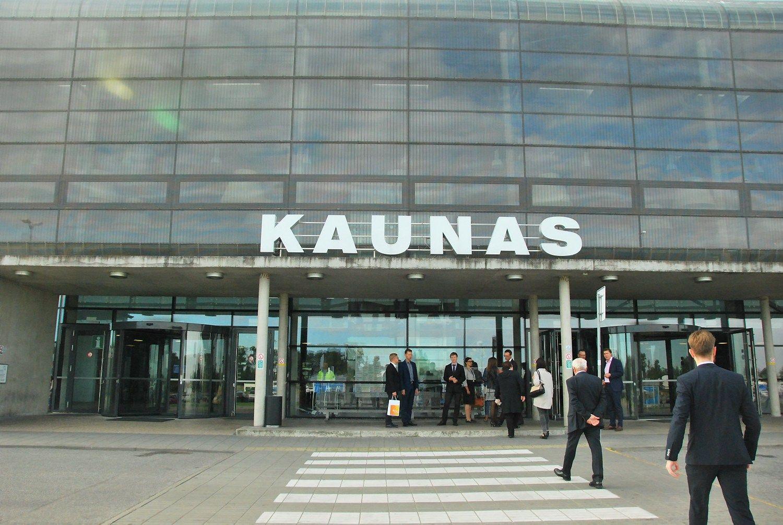 """""""Atea"""" už 1,2 mln. Eur rekonstruoja Kauno oro uosto terminalą"""