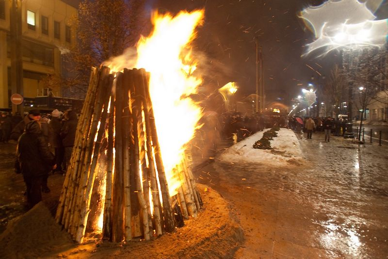 Minint Sausio 13-osios įvykius, 2011 m. Herkaus Milaševičiaus nuotr.
