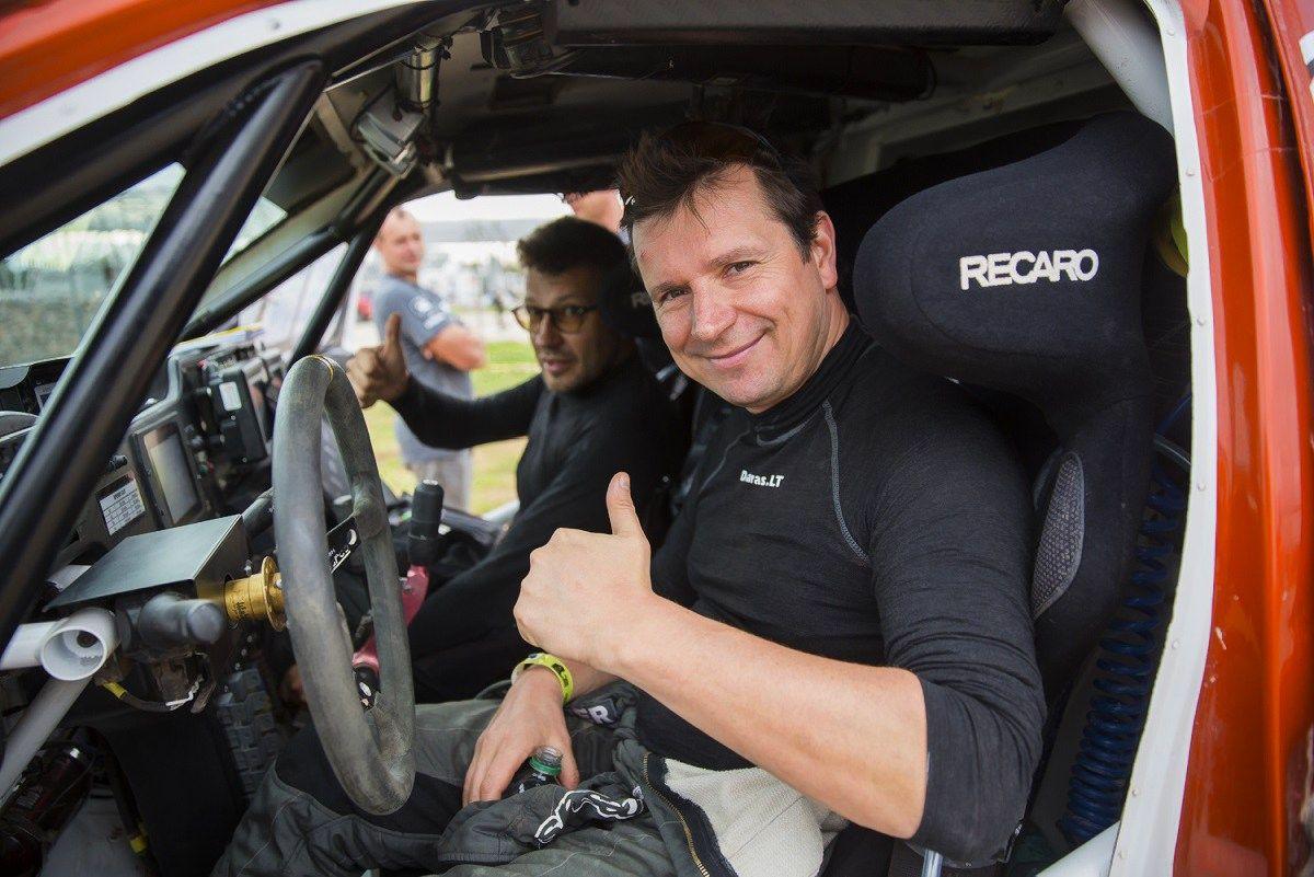 Dešimtame Dakaro ralio etape Juknevičius sublizgėjo – pateko į TOP 20
