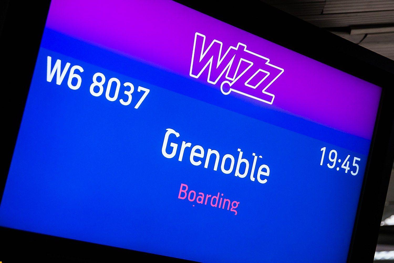 """Wizz Air"" pradėjo skrydžius į Grenoblį"