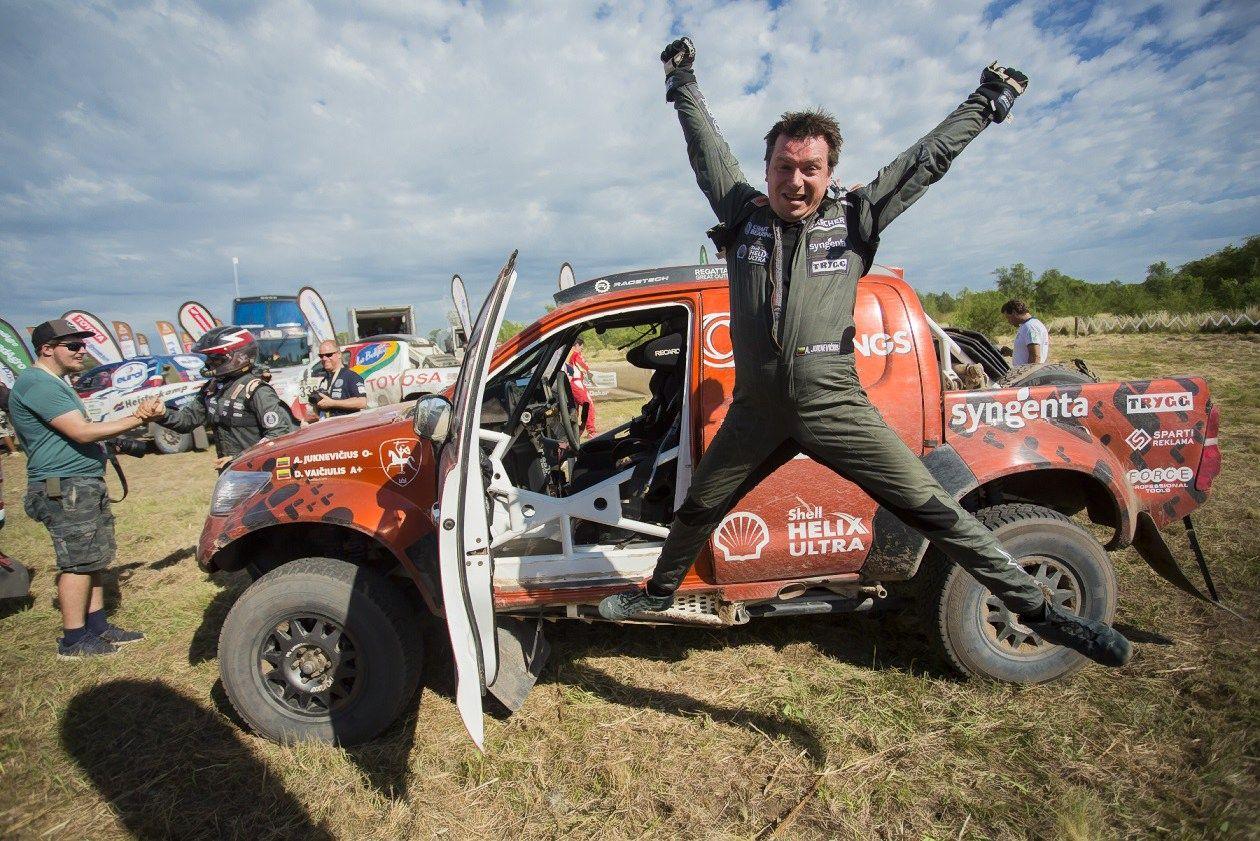 Juknevičius Dakaro ralyje pagerinoBaltijos šaliųrekordą