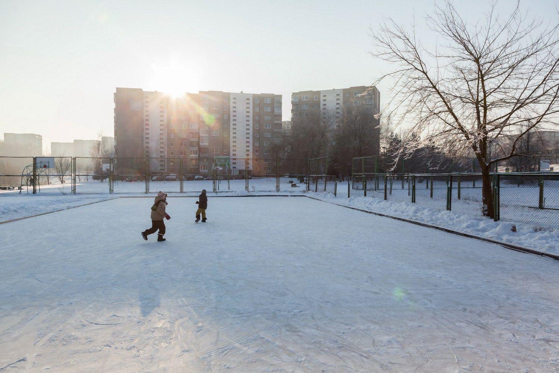 Vilniuje – nemokamos čiuožyklos po atviru dangumi