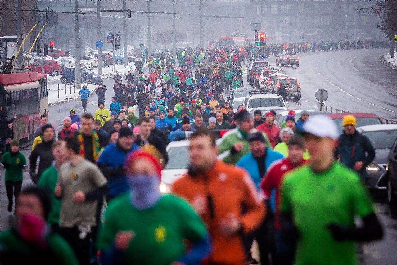 Vilniuje bėgimu pagerbtos Sausio 13-osios įvykių aukos