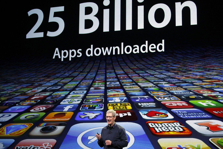 """JAV teismas """"Apple App Store"""" byloje palaikė vartotojus"""