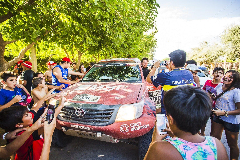 Juknevičius Dakaro ralio sąraše – aukščiau nei kada pavyko lietuviams