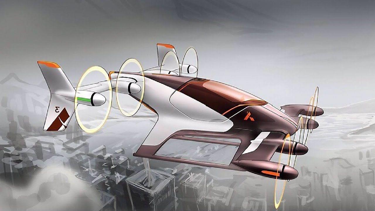 """""""Airbus"""" kuria savavaldį skraidantį automobilį"""
