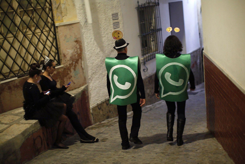 """Nauja apgaulė """"WhatsApp"""" – siūlo nemokamą internetą be Wi-Fi"""