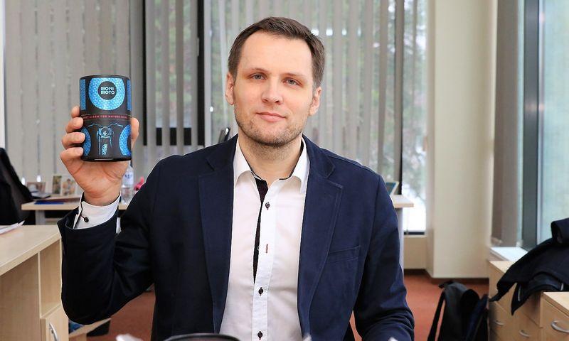 """Rolandas Dranseika, UAB """"Monimoto"""" vykdomasis direktorius. Dariaus Versecko (VŽ) nuotr."""