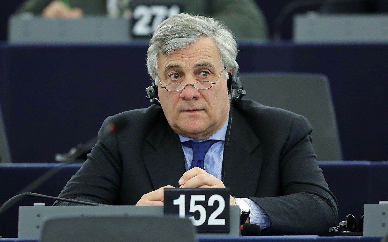 Italas Antonio Tajani išrinktas EP pirmininku