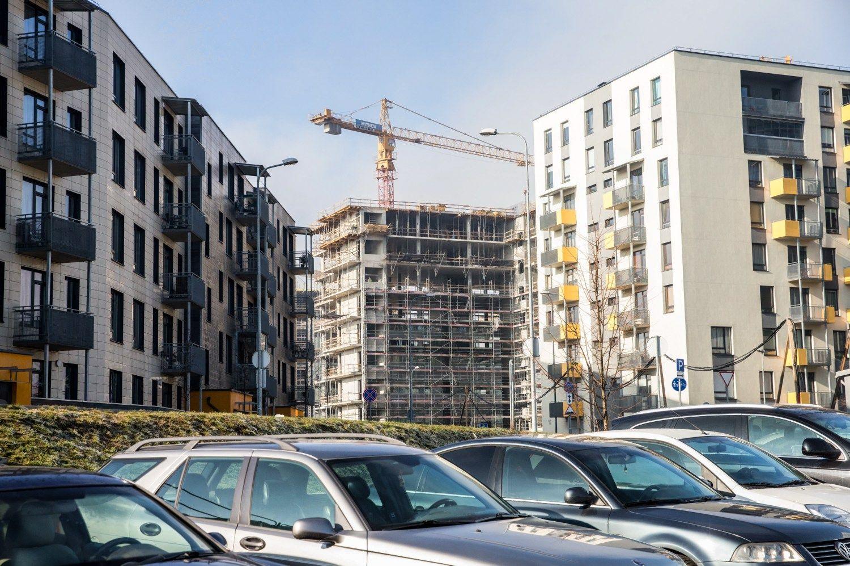 Gyventojai būstui išleido beveik 1,6 mlrd. Eur, skolinosi trečdalis