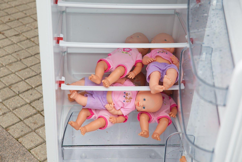 Uždrausta naikinti užšaldytus embrionus