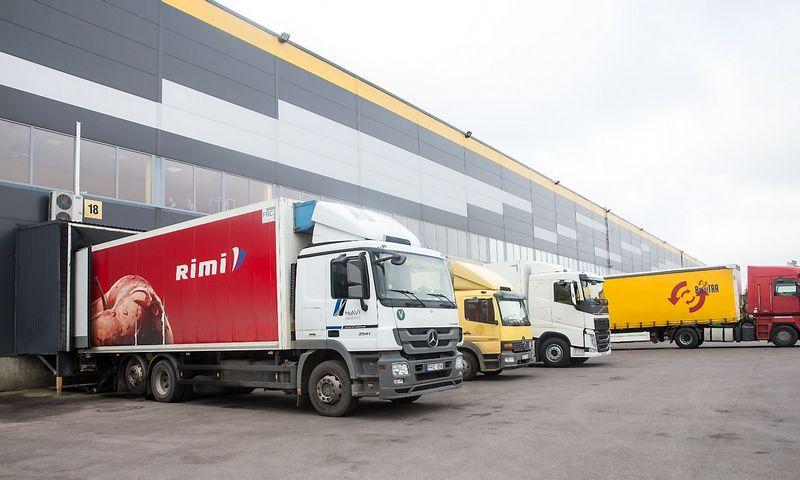 """""""Rimi Baltic"""" stato naują logistikos centrą Rygoje. Juditos Grigelytės (VŽ) nuotr."""
