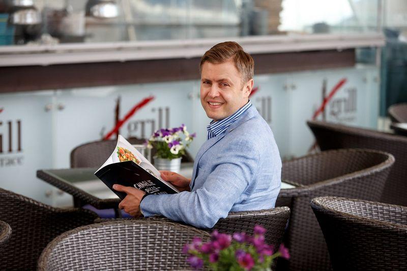 """Gediminas Balnis,  """"Amber Food"""" vadovas: """"Vartotojų perkamoji galia didėja, planuojame tikslingą plėtrą, tad 2017 m. prognozės yra optimistinės"""". Vladimiro Ivanovo (VŽ) nuotr."""