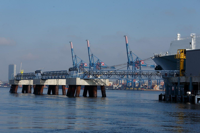 Klaipėdos uosto lyderystę kartina auganti konkurencija