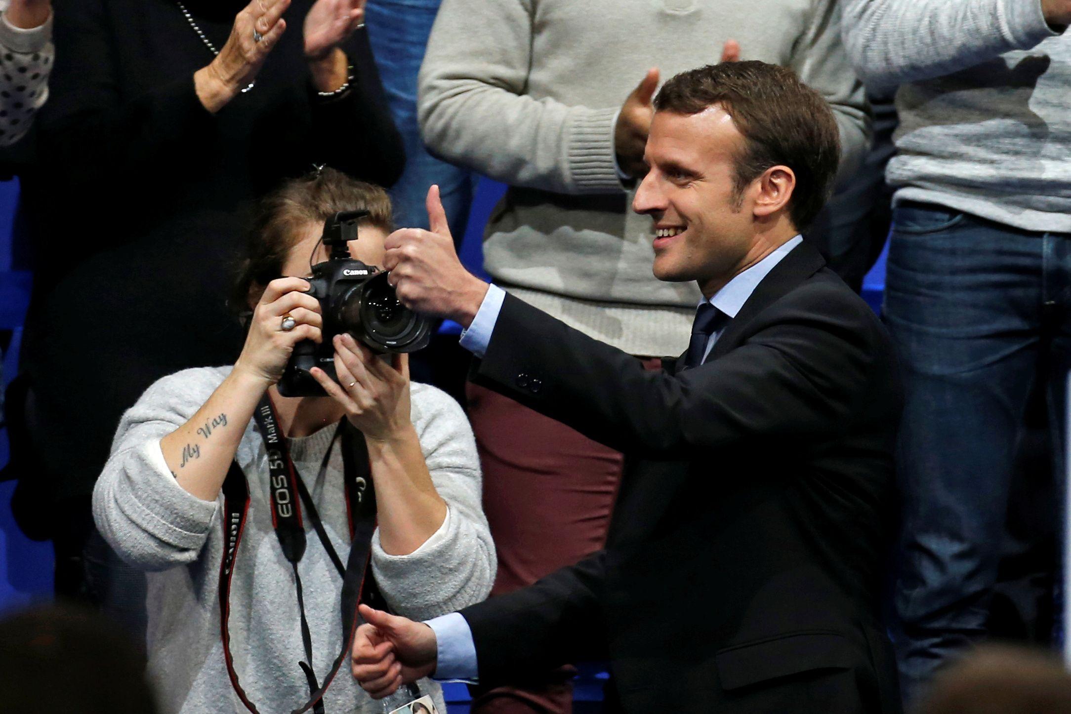 Prancūzijos rinkimų sensacija gali tapti Macronas