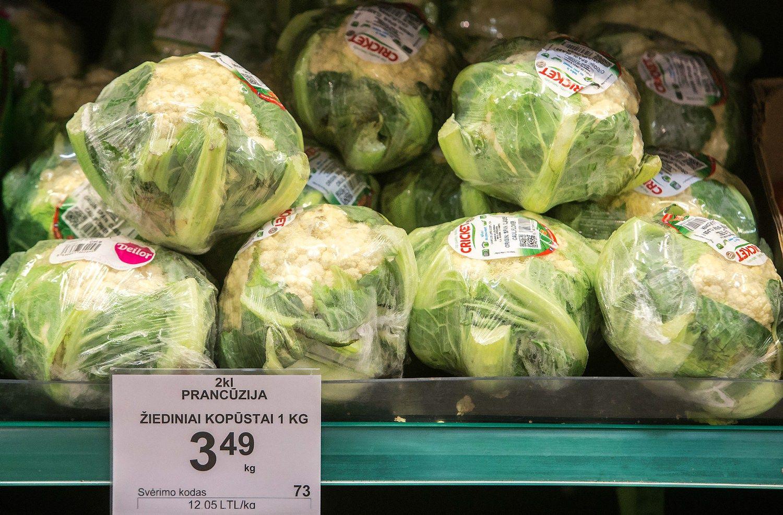 """Vyriausybė tars """"ne"""" idėjoms maistui taikyti PVM lengvatą"""