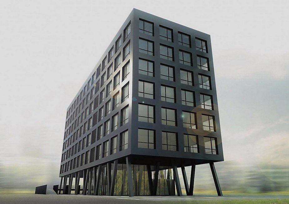Kaune pradedamas statyti naujas biurų pastatas
