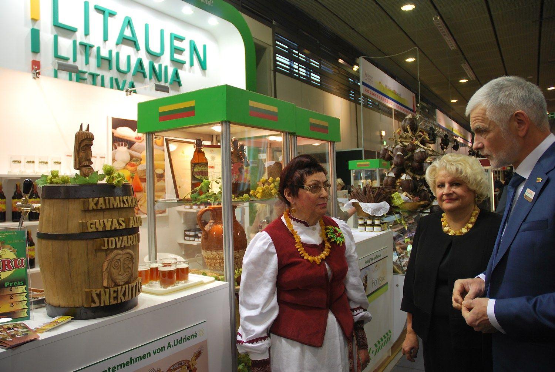 Lietuviškais žemės ūkio produktais domisi ir Brazilija, ir Japonija