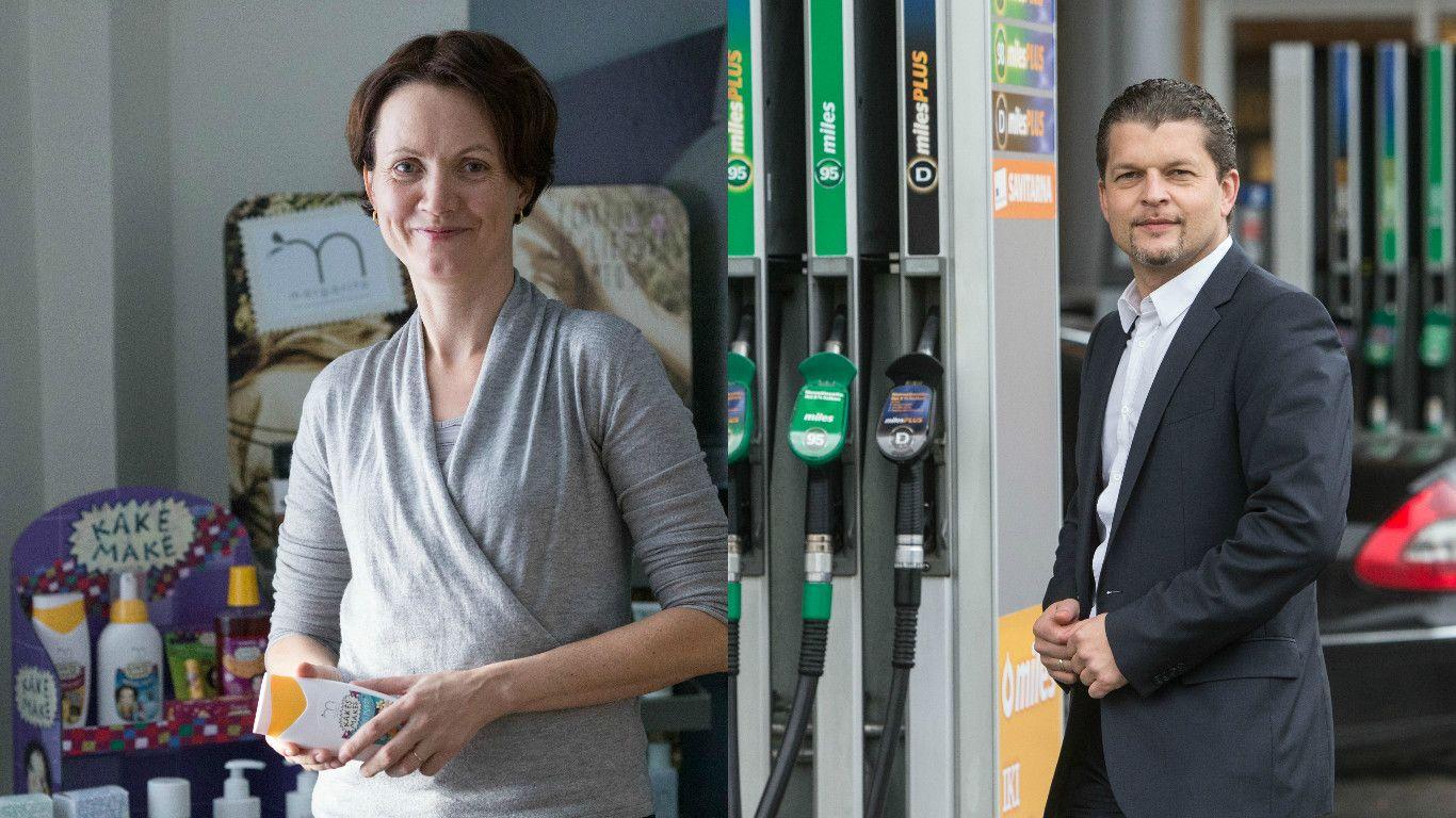 Kai verslininkai nusimeta švarką: Romualda Stragienė ir Skirmantas Mačiukas