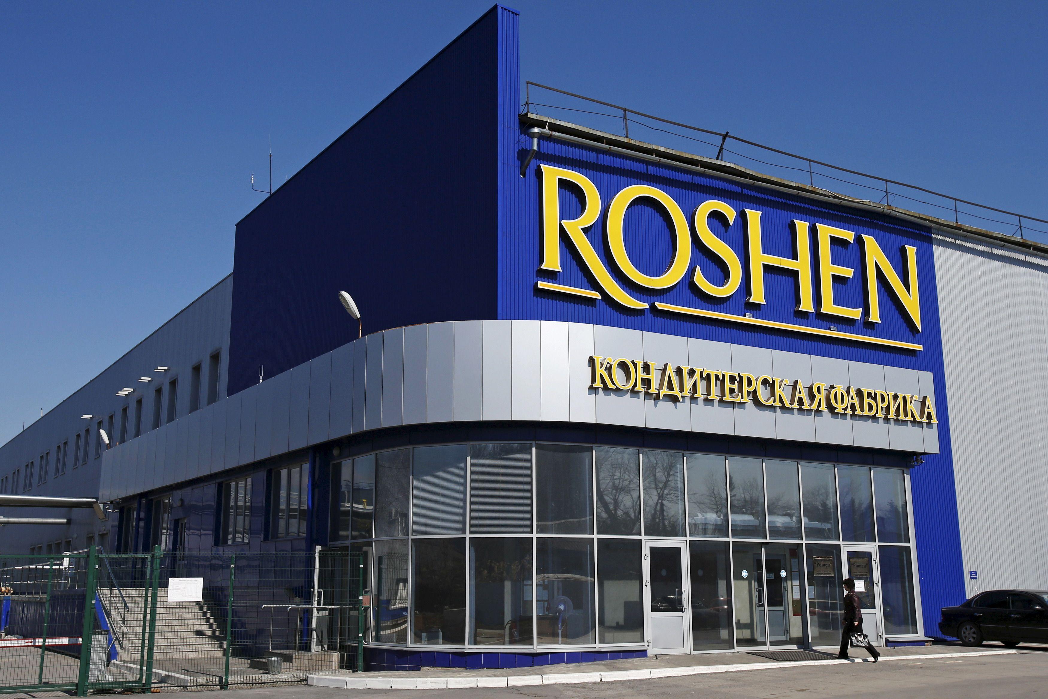 """""""Roshen"""" uždaro konditerijos fabriką Rusijoje"""