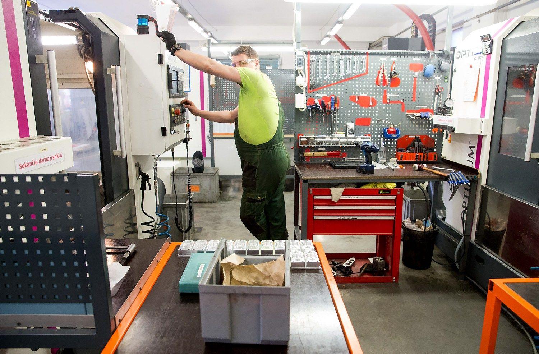 Apdirbamoji gamyba pasiekė rekordą