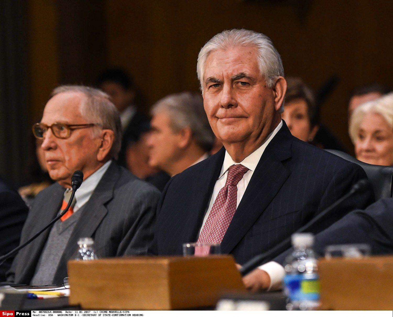 Rexas Tillersonas užsitikrino Senato komiteto paramą
