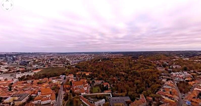 Lietuvai reklamuoti sukūrė 3 virtualios realybės vaizdo klipus