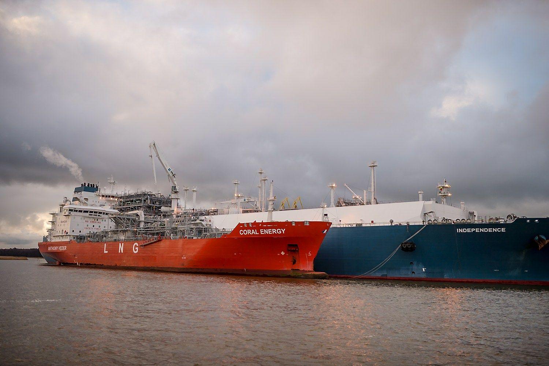 Klaipėdą pasieks antrasis mažos apimties SkGD laivas