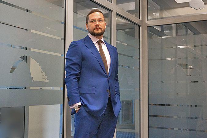 """Dmitrijus Syčiovas, """"Blue Bridge"""" IT paslaugų valdymo skyriaus vadovas."""