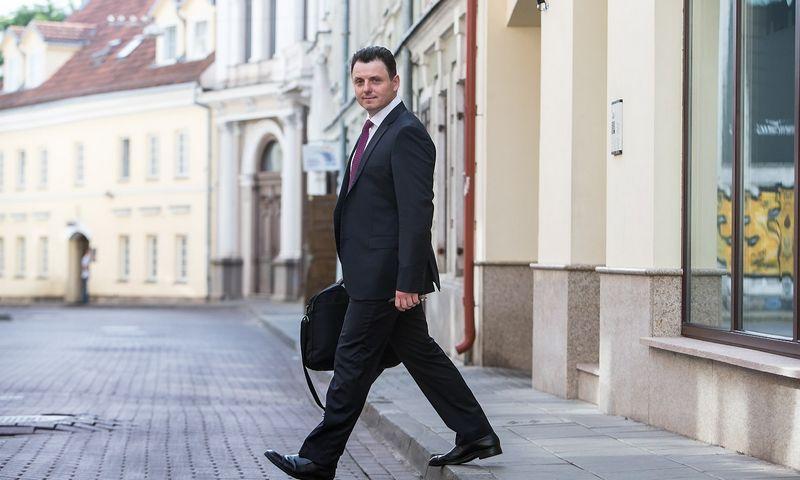 """Dr. Laimonas Marcinkevičius, advokatų kontoros """"Marcinkevičius ir partneriai Juridicon"""" advokatas. Juditos Grigelytės (VŽ) nuotr."""