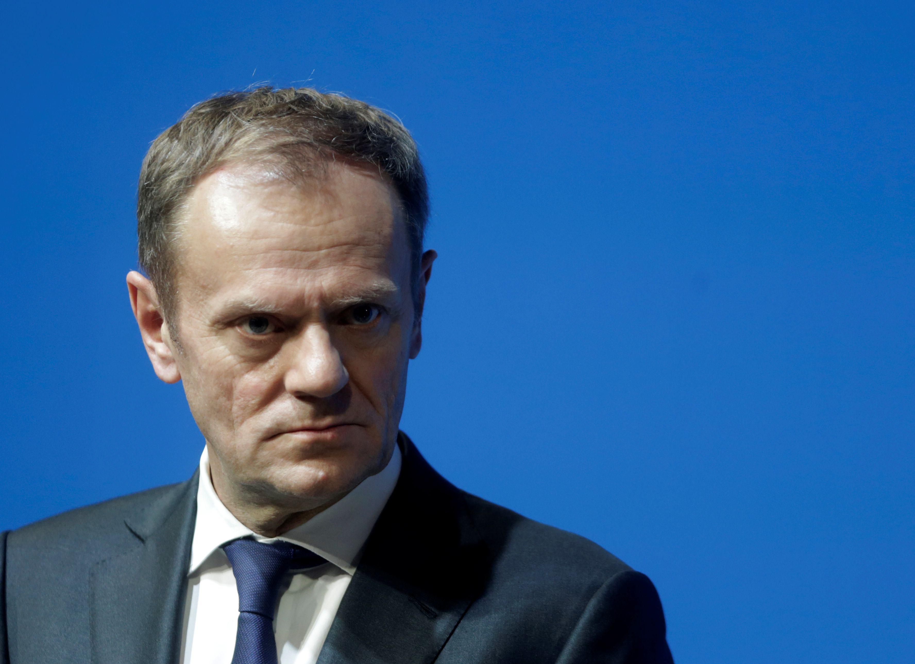 Tuskas naująją JAV administraciją įvardijo grėsme ES