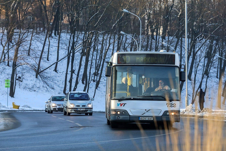 """""""Vilniaus viešasis transportas"""" išbrido iš nuostolio"""